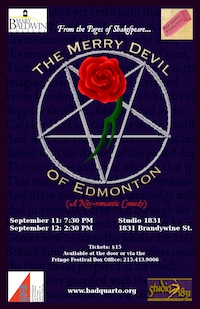 The Merry Devil of Edmonton poster