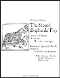 The Second Shepherds' Play (2011) poster
