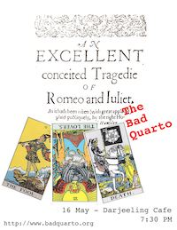 Romeo and Juliet: The Bad Quarto poster
