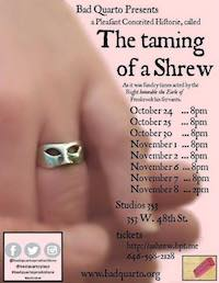 The Taming of a Shrew poster