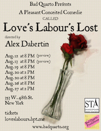 Love's Labours Lost poster